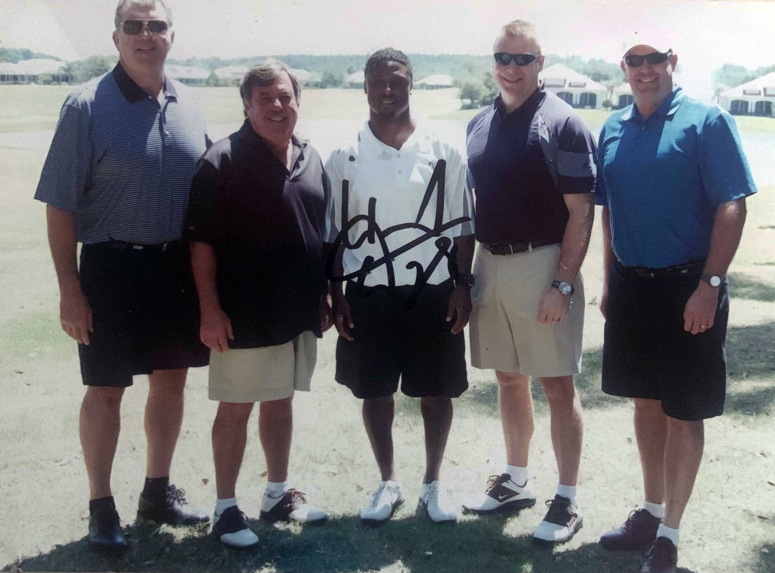 Warrick Dunn with Duff and partners