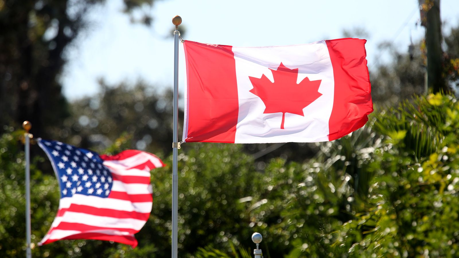 Canadian Flag US